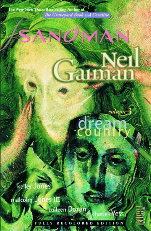 The Sandman Volume 3: Dream Country Conditie: Tweedehands, als nieuw Vertigo 1