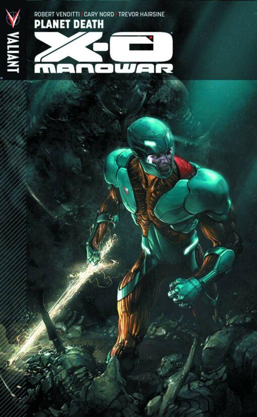 X-O Manowar (3rd Series) Volume 3: Planet Death Conditie: Tweedehands, als nieuw Valiant 1