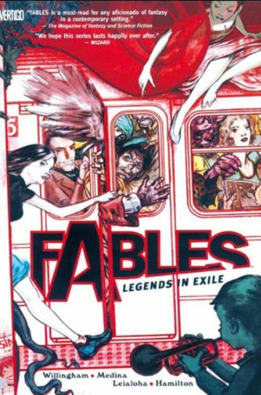Fables Volume 1: Legenden in Ballingschap [NL] Conditie: Tweedehands, als nieuw Vertigo 1